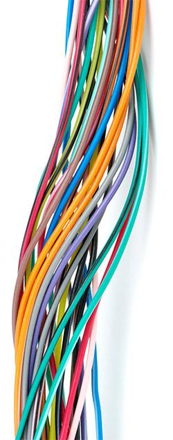 Impianti elettrici, fili elettrici - RP Installazioni