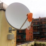Parabola impianto satellitare