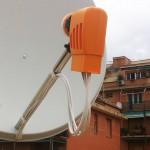 Dettaglio dell'LBN satellitare