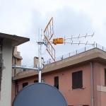 Dettaglio dell'antenna digitale terrestre
