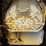 Dettaglio dei collegamenti all'interno dei cassetti ottici