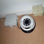 Dettaglio della seconda telecamera (sempre Full HD) dell'impianto di video sorveglianza