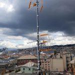 Impianto con quattro antenne per ovviare al problema dello scarso segnale della TV digitale terrestre