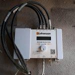 Centralina per impianto per ovviare al problema dello scarso segnale della TV digitale terrestre