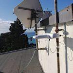 Impianto miscelato satellitare e digitale terrestre a genova Pegli 1d2 - Galleria fotografica