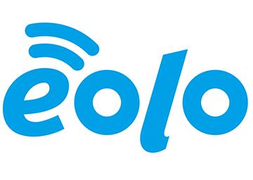 Logo EOLO, internet ultraveloce per casa e azienda