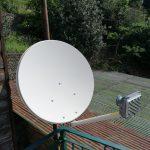 Open Sky Big Blu: impianto internet via satellite a Genova Voltri in zona Crevari alta