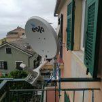Impianti EOLO sulle alture di Bogliasco giugno 2020