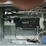 - Impianto Digitale Terrestre e Satellite a Carignano, quartiere di Genova - Dettaglio dell'antenna dell'impianto digitale terrestre