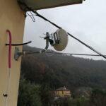 Impianto EOLO - 100 Giga ai piani di Fregoso (Genova) - 001