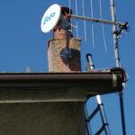 Impianto EOLO a Campomorone con il ripetitore della Gaiazza - 001
