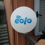 Impianto EOLO a Pontedecimo con il ripetitore della Gaiazza - 001