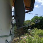 Impianto internet Eurona Wavetech a Sant'Olcese - Internet con satellite