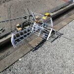 Impianto miscelato (digitale terrestre e satellitare) a Cornigliano - L'antenna per la ricezione del segnale digitale terrestre (DTT)