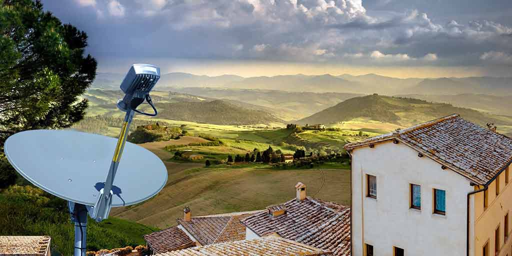 Installazione di impianti Eurona Wavetech: internet veloce via satellite