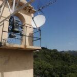 Spostamento del parco antenne per copertura del terrazzo con i ponteggi - 002