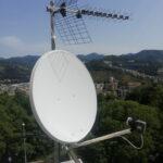 Spostamento del parco antenne per copertura del terrazzo con i ponteggi - 003