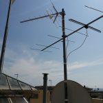 Installazione antenna UHF per la ricezione del segnale digitale terrestre ad Albaro - Genova
